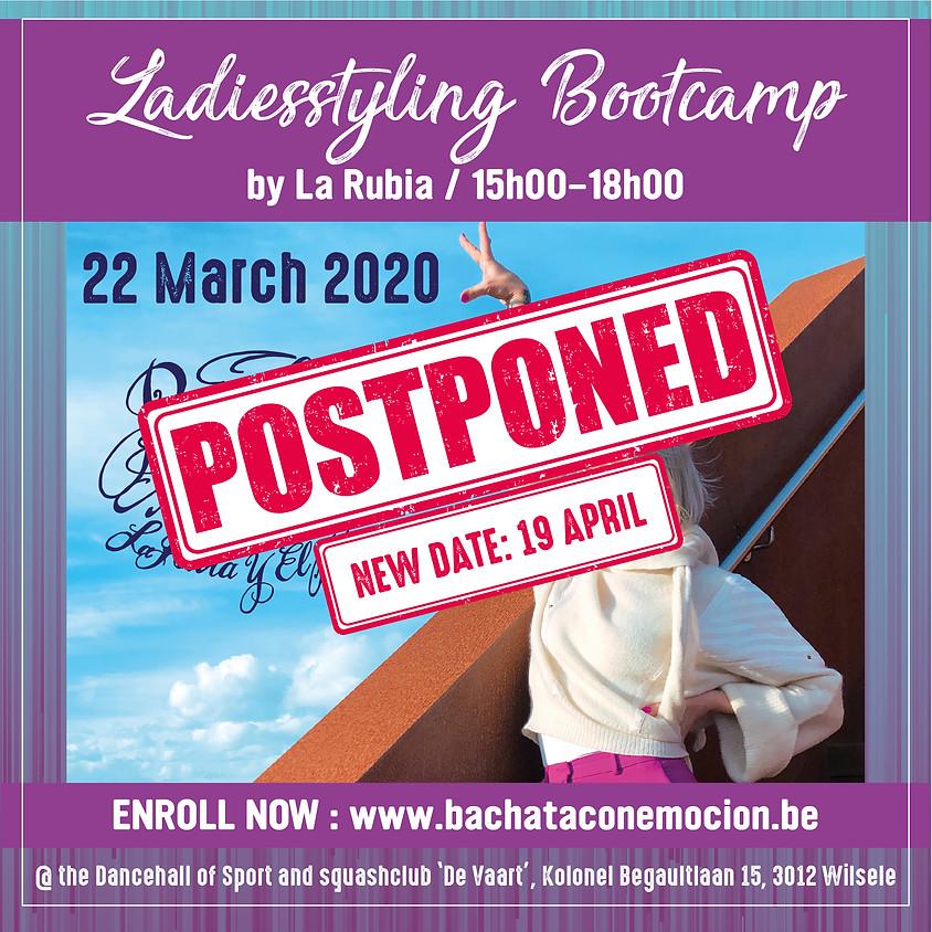 Bachata Ladies Styling bootcamp by La Rubia