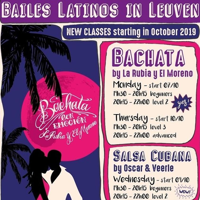 Start New Fall series Bachata level 3 & advanced