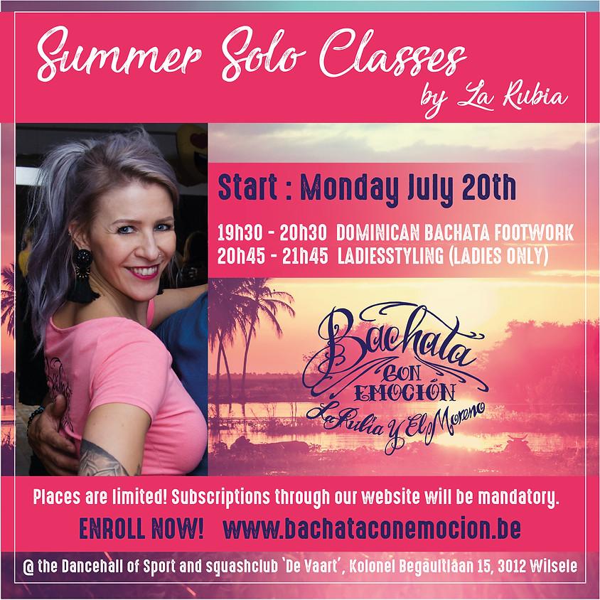 Start Bachata summer solo classes