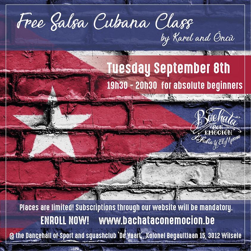 Free Salsa Cubana initiation
