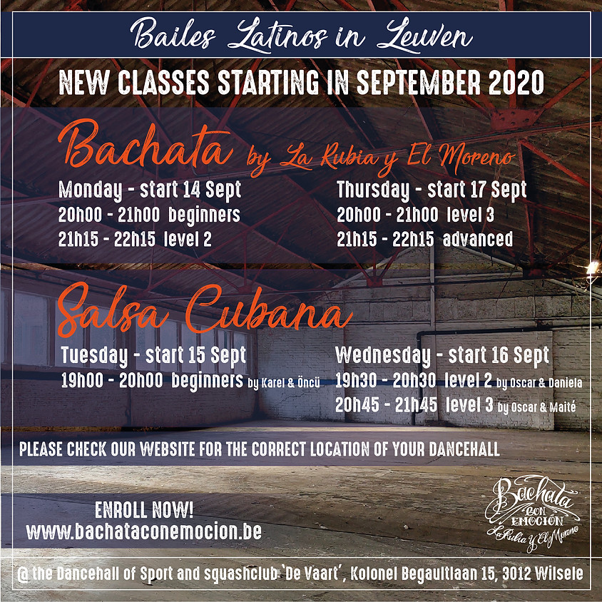 START New Fall Series Bachata Beginners & Level 2