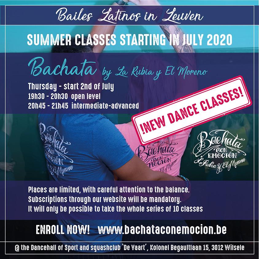 Bachata summer partnerwork classes (week 10)