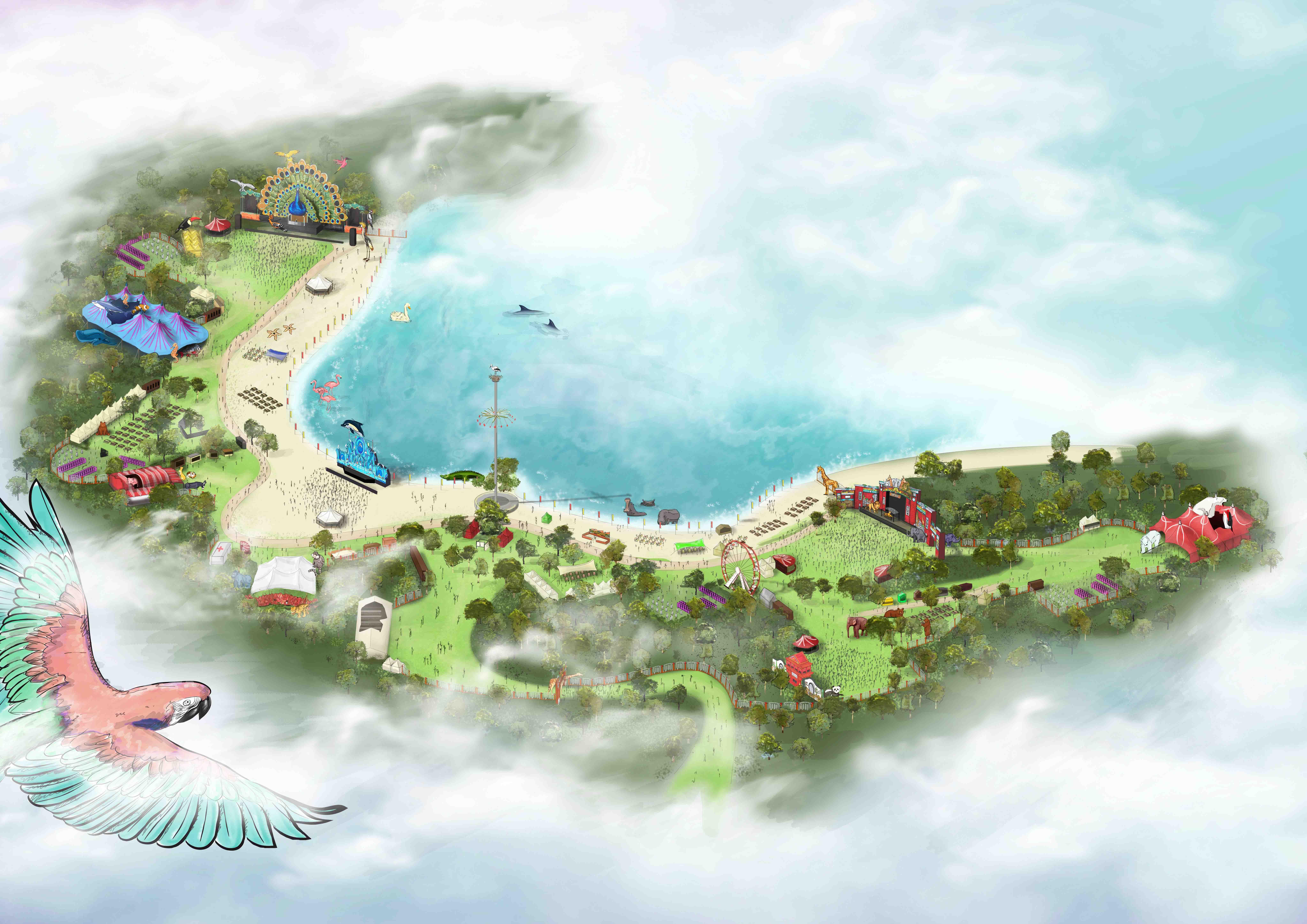 Festival map - Emporium the zoo 2019