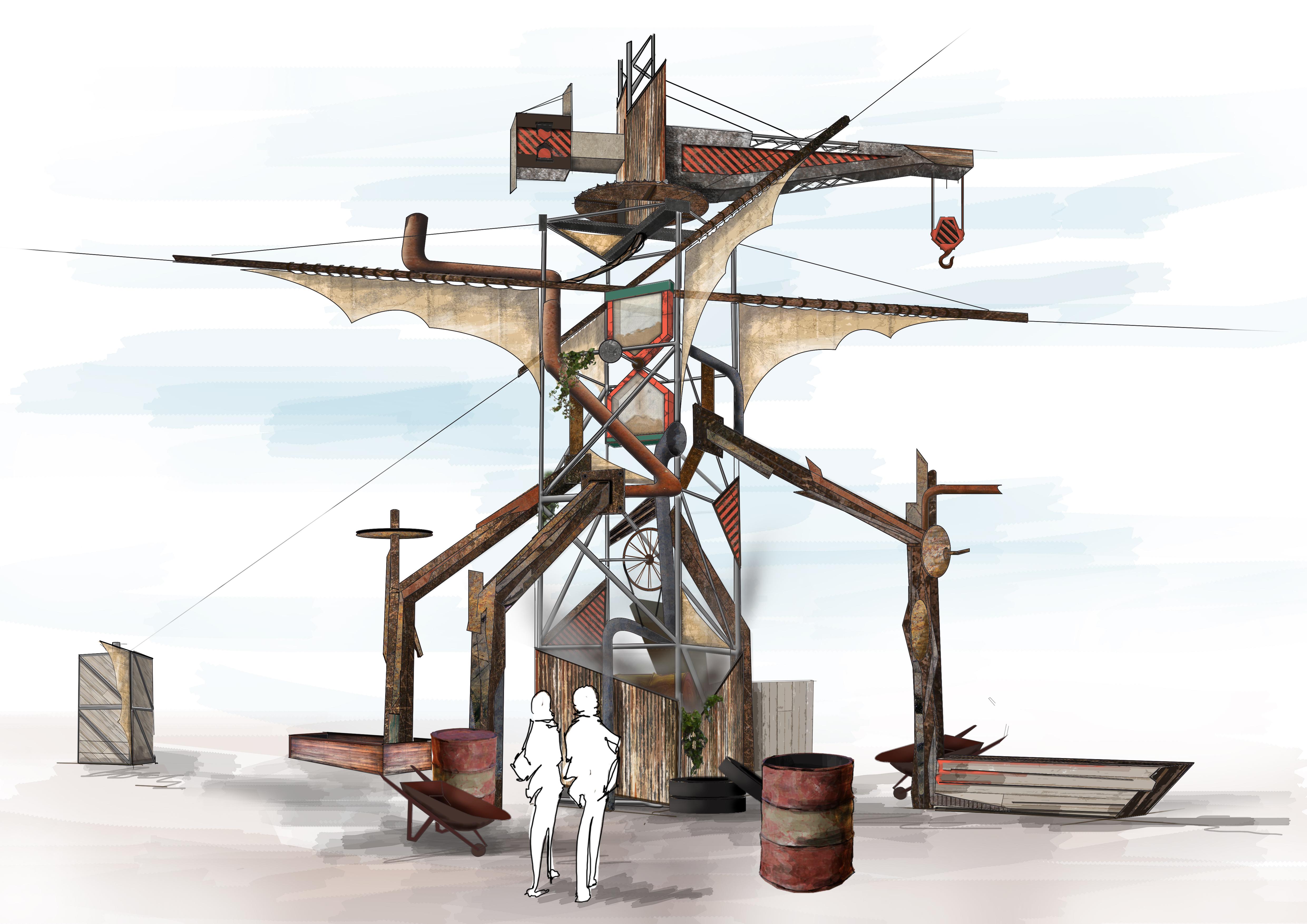 Ploegendienst 2019 - Terrain tower design