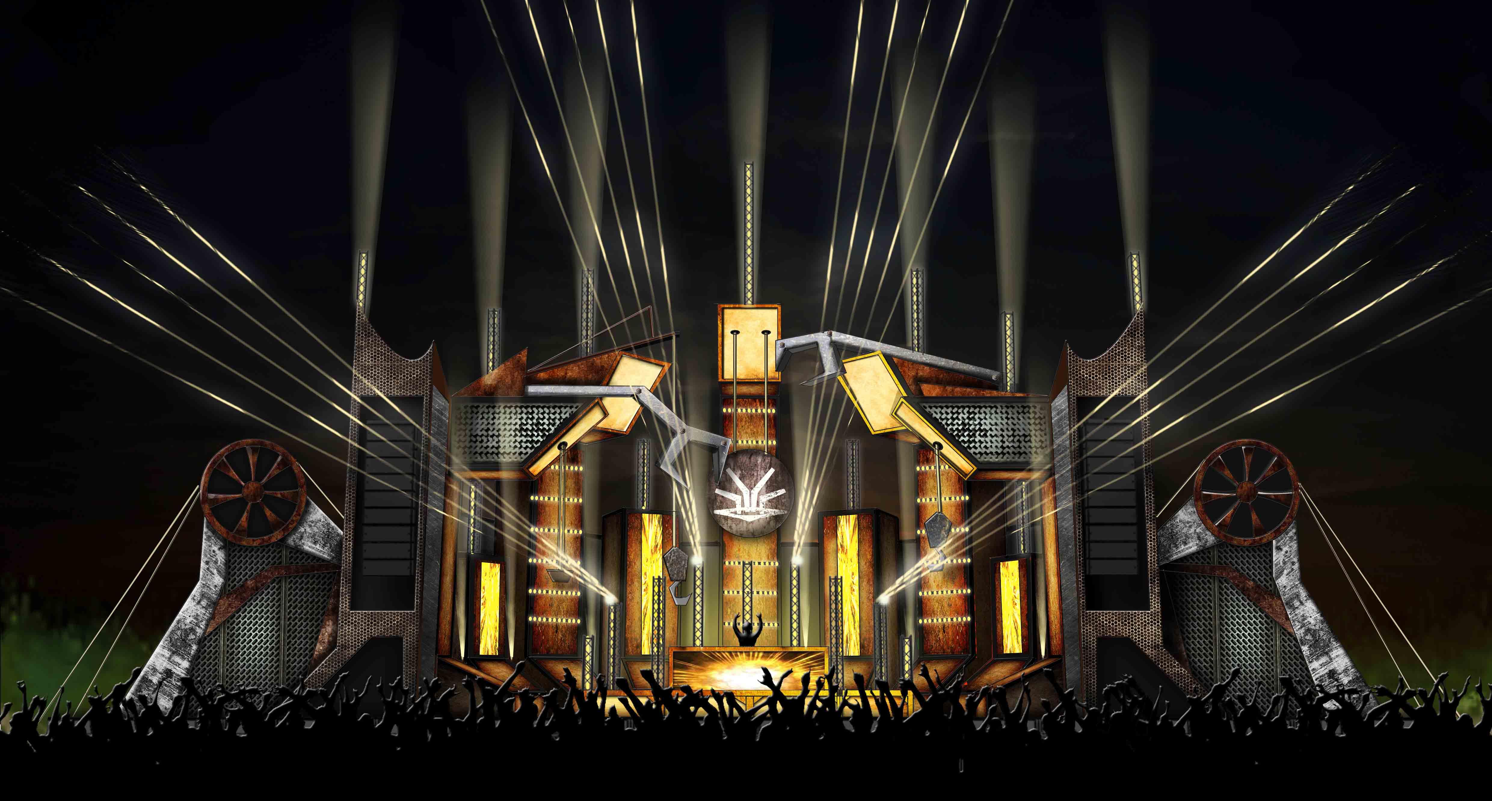 Dreamvillage 2018 – Mainstage design