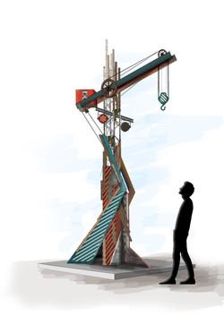 Ploegendienst 2019 - Techno paal design