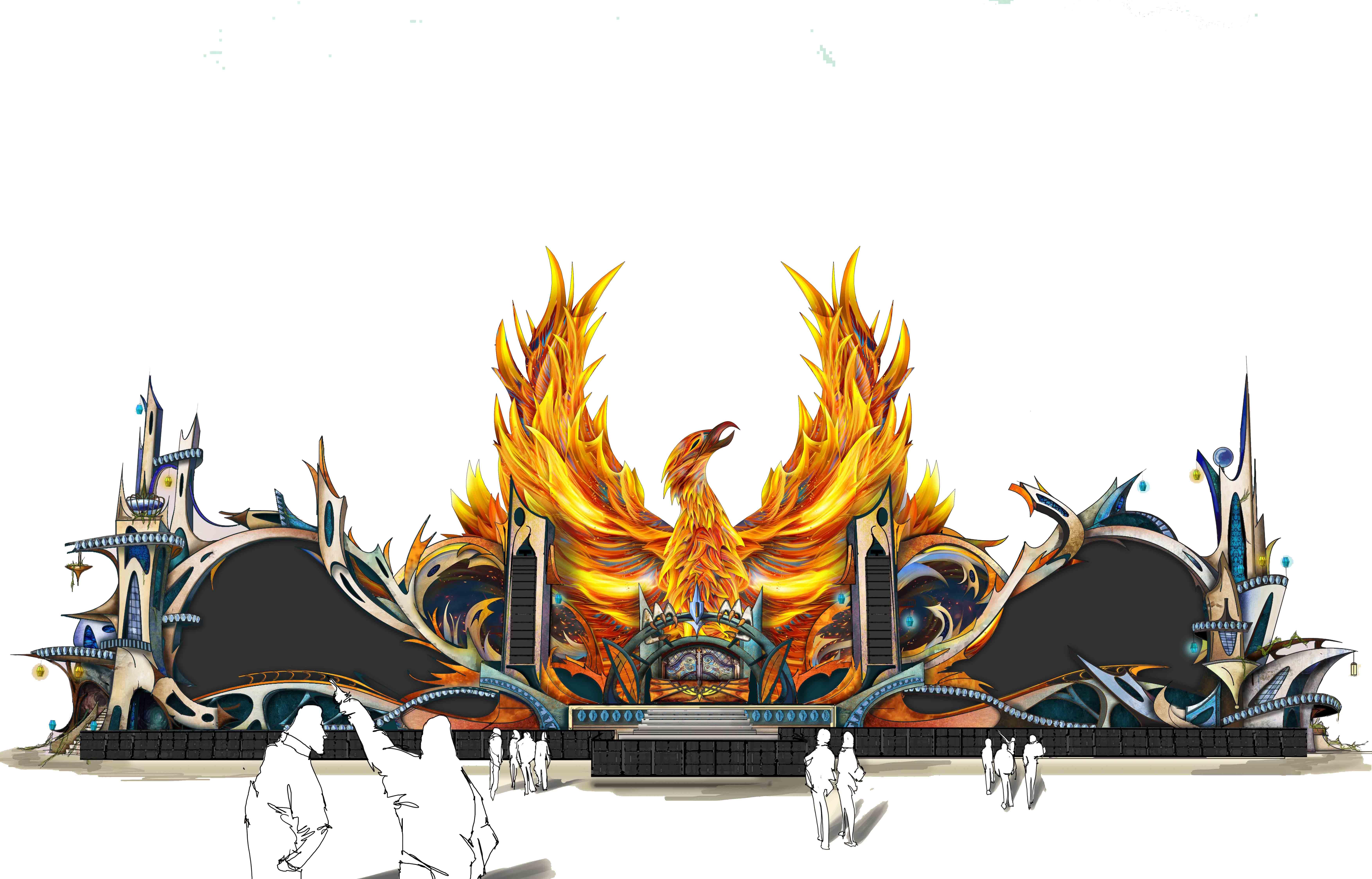 Dreamfields Mexico 2018 - Mainstage design