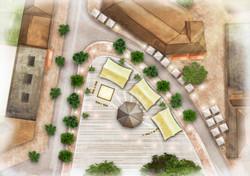 Terrace & event square - Bergeijk