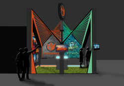 Stand design FRWRD & Stagekings