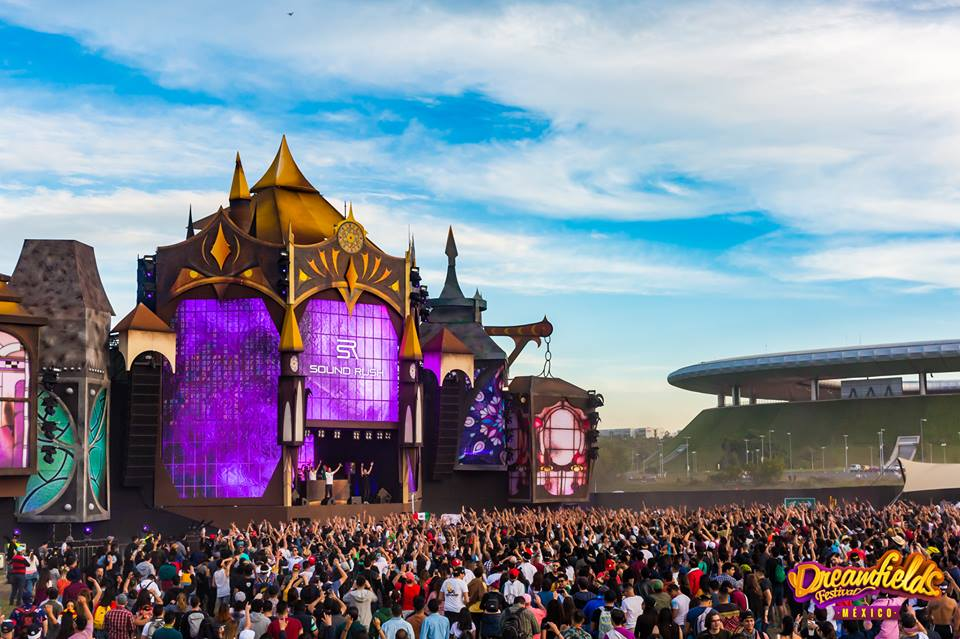 Dreamfields Mexico – Hardstyle stage
