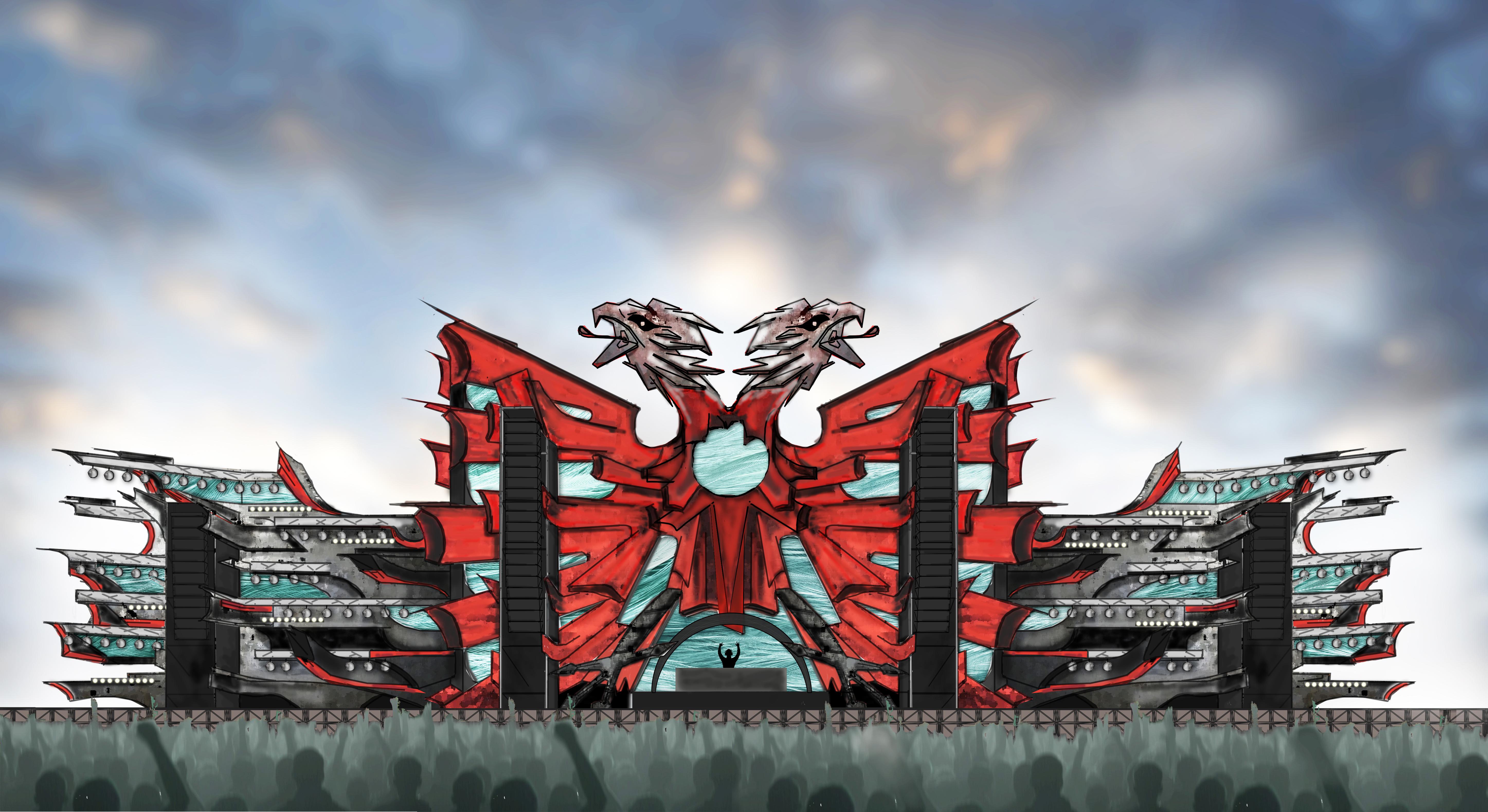 Electric Albania 2018 – Mainstage design