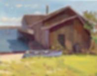Rockland boathouse 11 x 14 $400.jpg