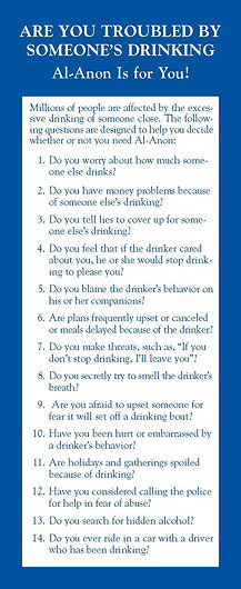 Quiz: Are you troubled by someone's drinking?