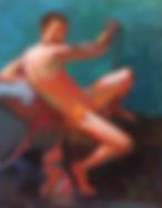 Caravaggio's St. John the Baptist 16_x20