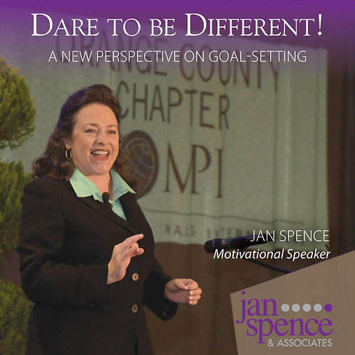 Dare to Be Different Goal Setting Audio CD