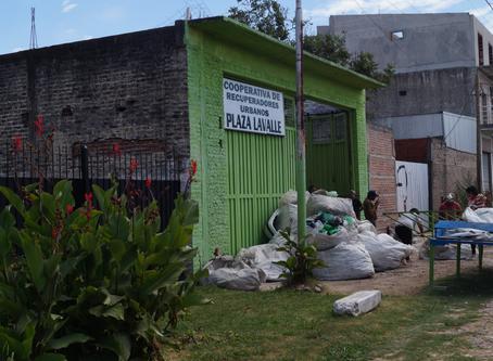 Visita a Plaza Lavalle (Gestión de residuos sólidos urbanos)