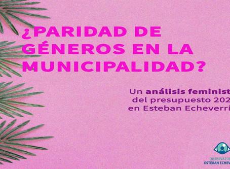 Análisis de la paridad de género en el Poder Ejecutivo de Esteban Echeverría