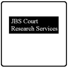 JBS Court Research Services