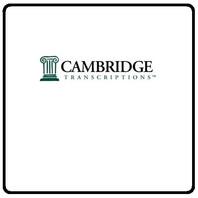 Cambridge Transcriptions