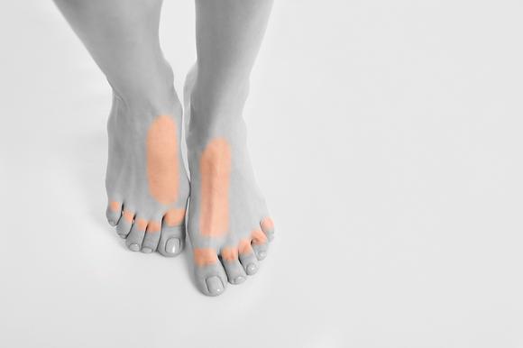 Feet & Toes LHR