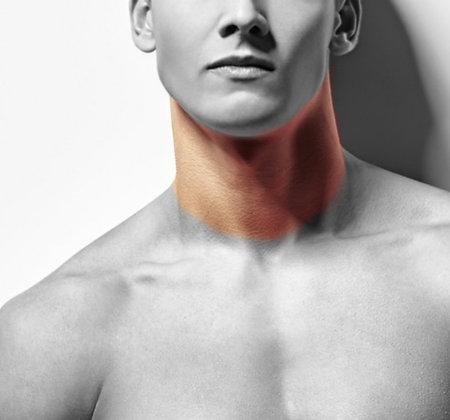 Neck (front or back) - Men's LHR