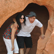 Cave dwellers in the Valley of Fire