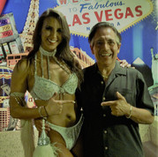With Angela in Vegas