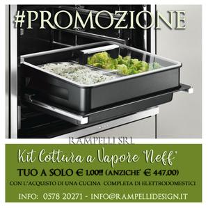 """#Promo   """"Kit cottura a vapore Neff"""""""