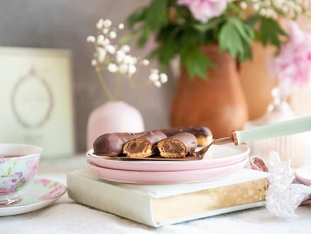 Čokoladni ekleri (eclairs)