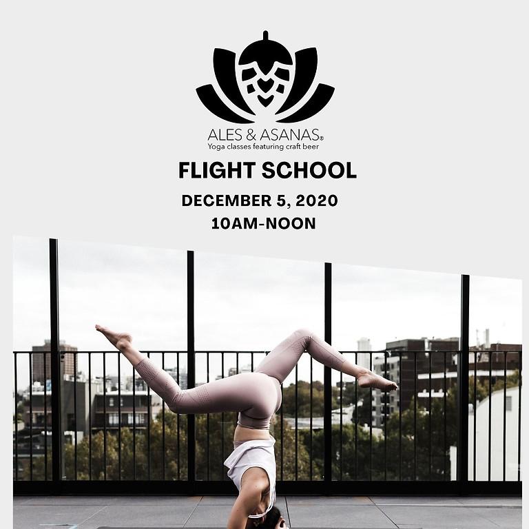 Ales & Asanas Flight School