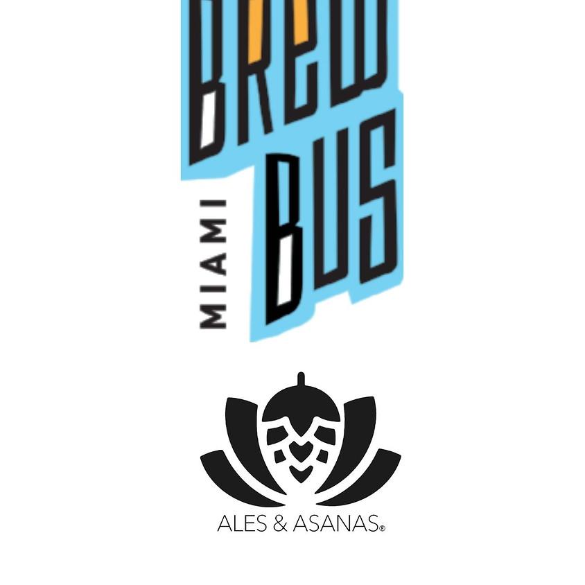 Ales & Asanas Adventures: Miami Brew Bus Tour