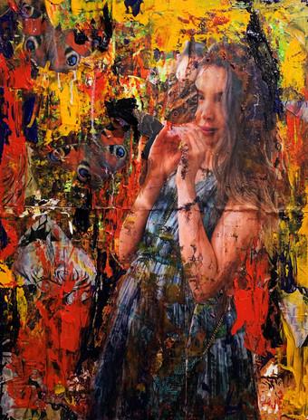Pav Szymanski - Haitian Girl with Butterflies.jpg