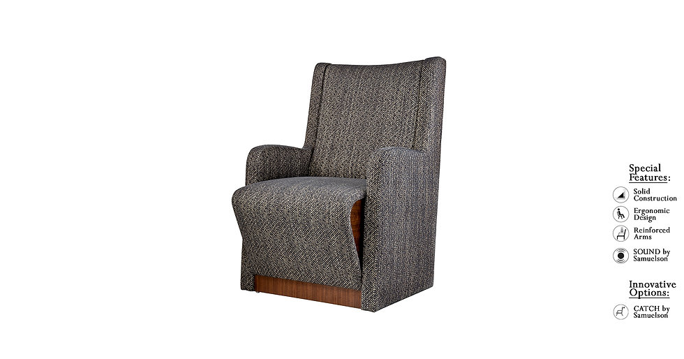 Allure - 8843L. - Lounge Chair