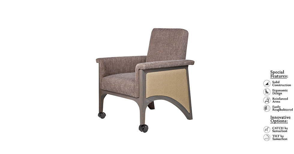 William - 8838L/CAS - Occasional Chair