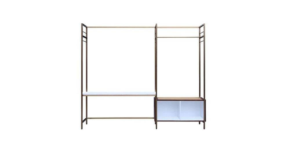 8766 - Free Standing Wardrobe/Desk