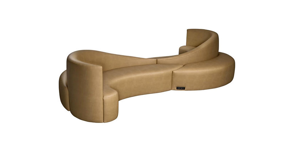8630 - S Shaped Sectional