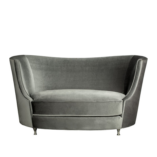 8430 - Curved Back Sofa