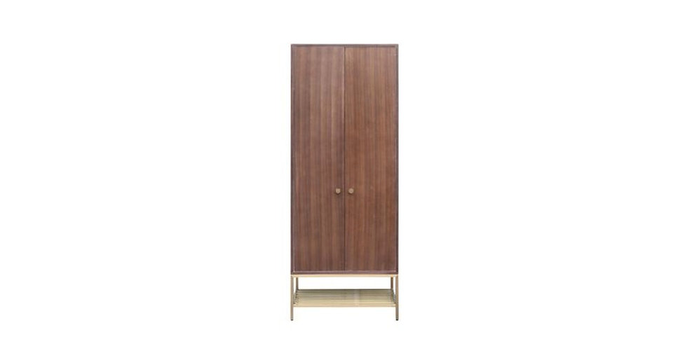 8765 - Free Standing Clothes Closet