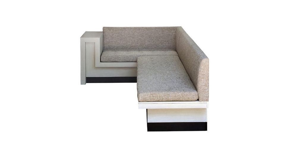 8528 - Custom L Shaped Banquette