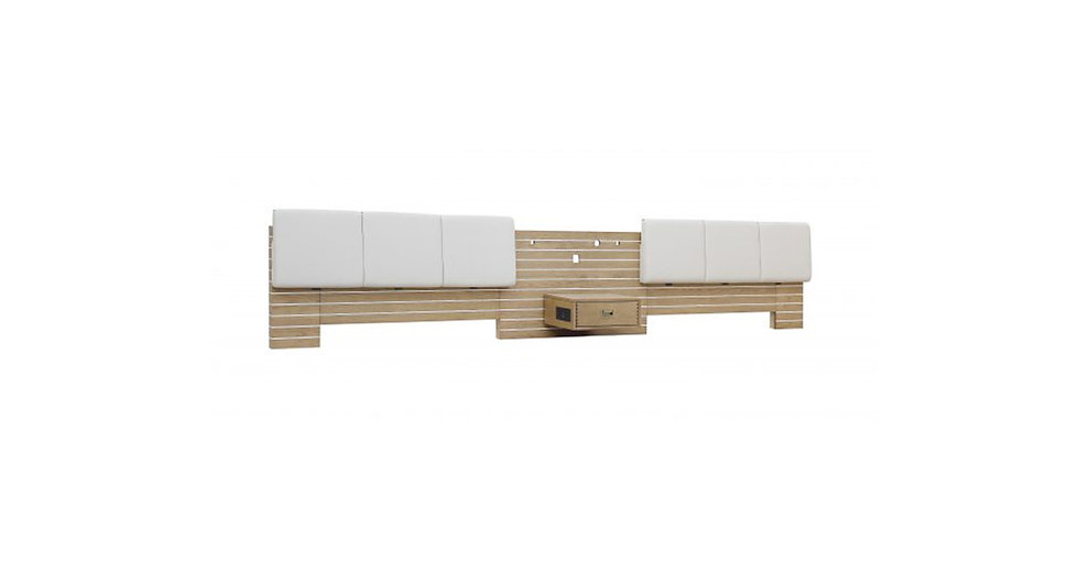 8442 - Double Queen Headboard/Nightstand