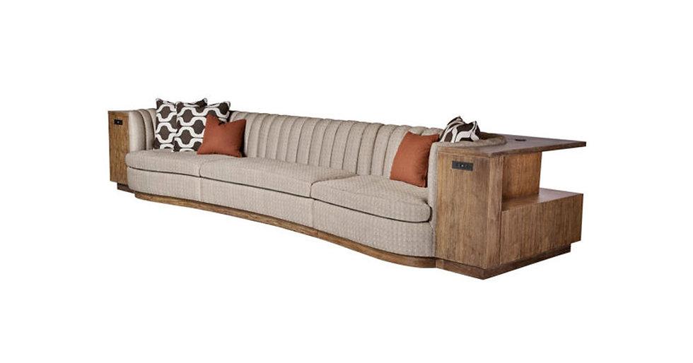 8676 - Communal Sofa/Cabinetry