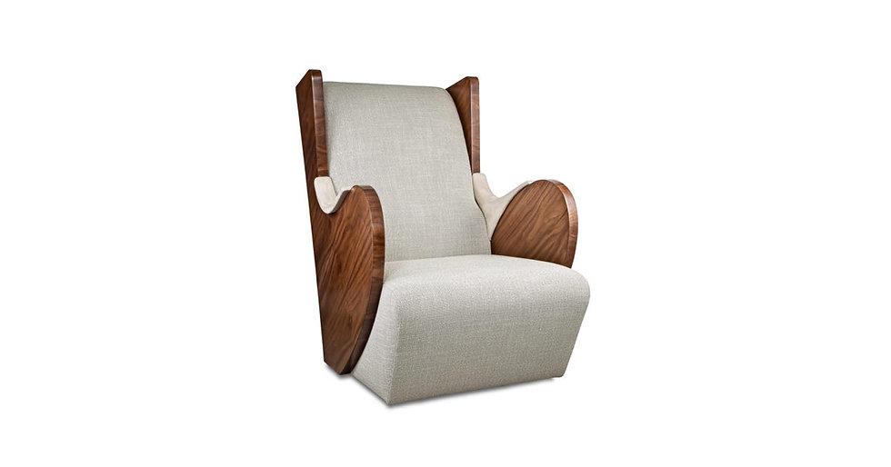 8730 - Phorm Swivel Wing Armchair