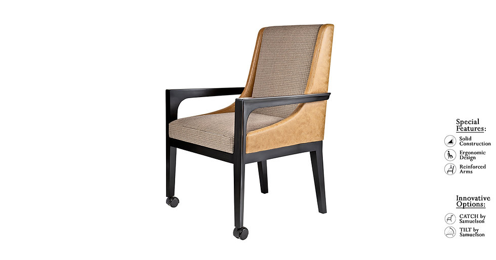 Cary - 8834L/CAS. - Dining Chair