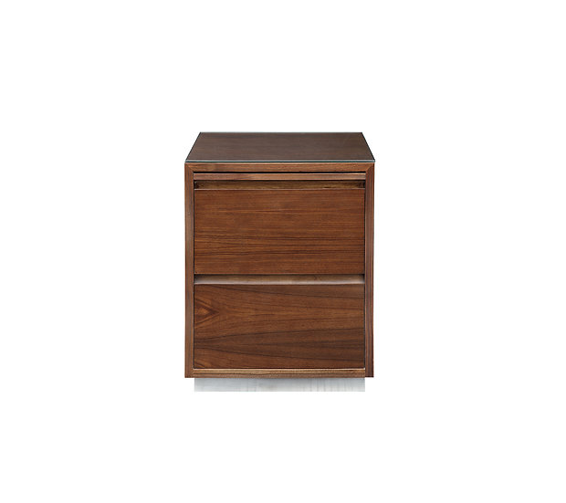 8281 - Nightstand with Pull-Out Shelf