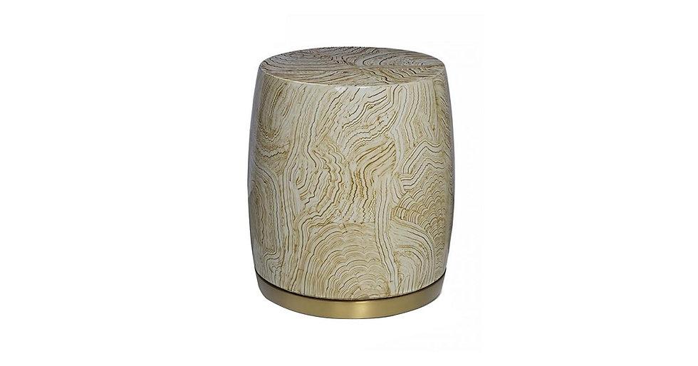 8496/1 - Wine Barrel Shaped Side Table