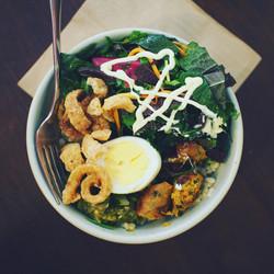 Pork Crackling Salad