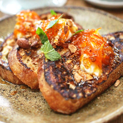 French Toast with Citrus Preserve