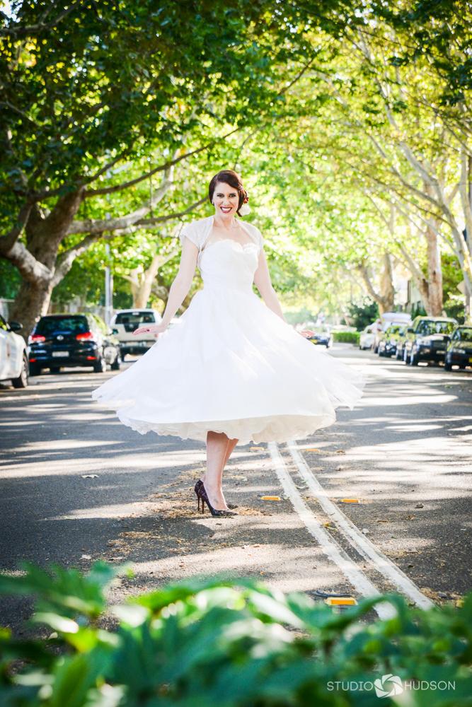 Belle Bride Twirl Street