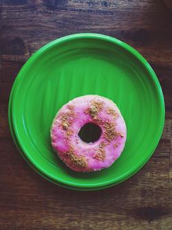 Doggie Strawberry Donut