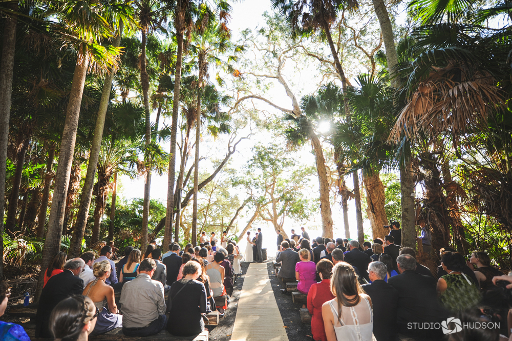 Green Cathedral Wedding
